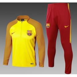 Тренировочный костюм (Желтый/Бордовый) барселоны 2018 2017