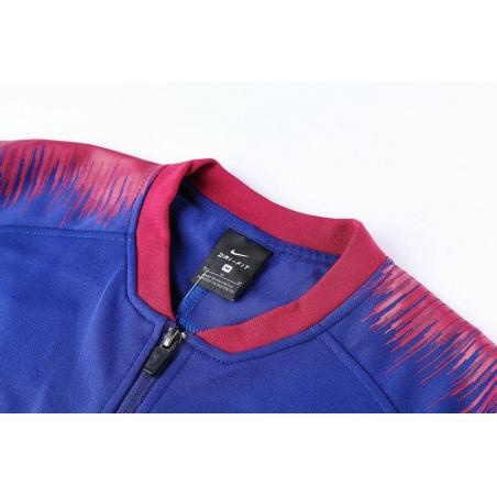 Спортивный костюм барселоны 2018 2019 синий  месси
