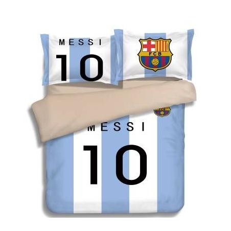 Постельное белье барселона barcelona 2018 2019 небесный  месси