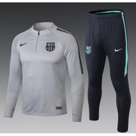 Тренировочные костюмы барселоны 2018 2019 серый