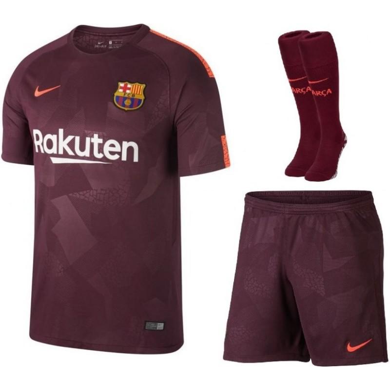 Детская футбольная форма барселоны 2017 2018 (с шортами)