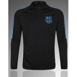 Тренеровочный свитер барселоны barcelona черный синий