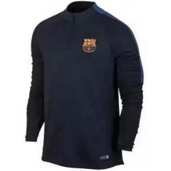 Тренеровочный свитер барселоны barcelona темно синий