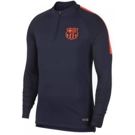 Тренеровочный свитер барселоны barcelona темно синий оранжевый