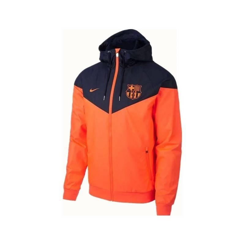 Куртка ветровки барселоны оранжевая  ronaldo 7