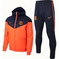 Ветрозащитные костюмы оранжевая темно синяя