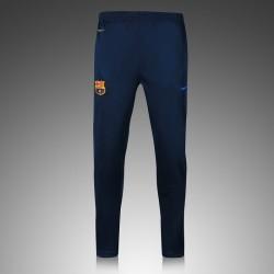 Тренировочные штаны барселоны темно синие