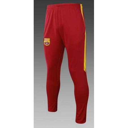 Тренировочные штаны барселоны бордовые желтые  месси