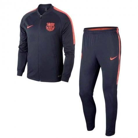 Детские спортивные костюмы barcelona 2018-2019 (Черный/Оранжевый)