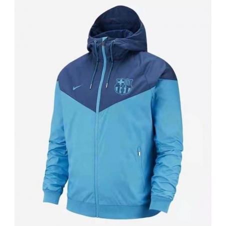 Куртка ветровки барселоны небесно синяя  месси