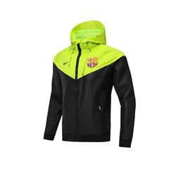 Куртка ветровки барселоны салатовая  ronaldo 7
