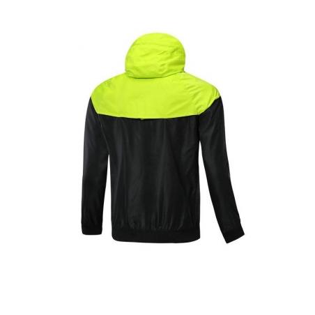 Куртка ветровки барселоны салатовая  месси