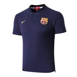 Поло барселоны (barcelona) сезон 2018-2019 (синее)