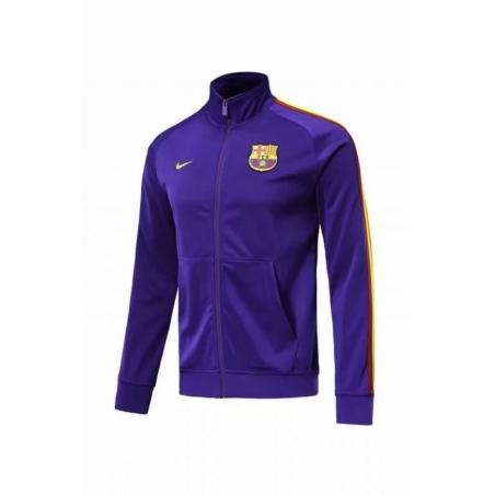 Олимпийка барселоны (barcelona) сезон 2018-2019 (фиолетовая)