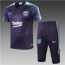 Футбольная форма костюм барселоны 2020 2019 темно синий мин