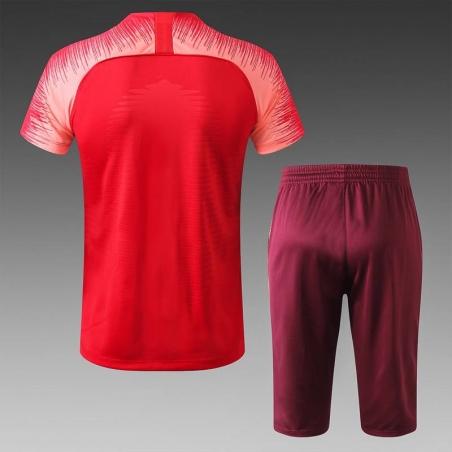 Футбольная форма костюм барселоны 2020 2019 томатный  месси