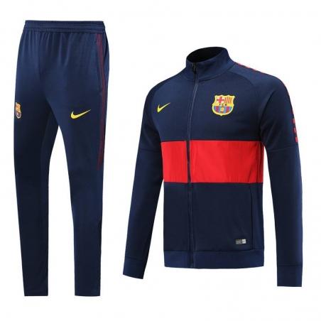 Спортивные костюм барселоны 2019 2020 синий  месси