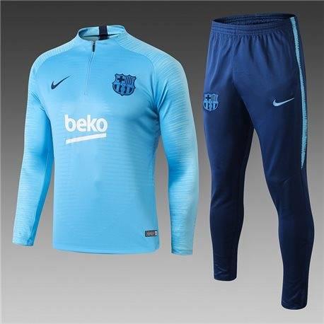 Детские  костюмы barcelona 2020-2019 небесно синий
