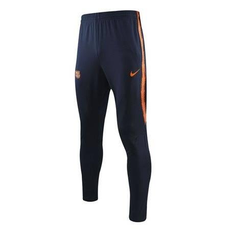Тренировочные штаны барселоны черные с оранжевым
