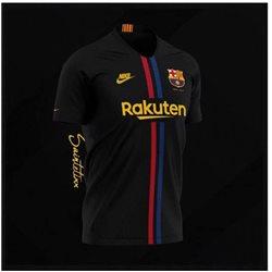 Футболка barcelona 2018 чернаяк расная