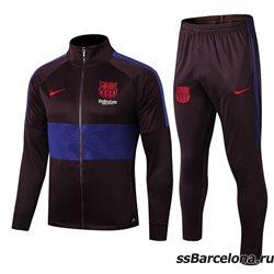 (Темно серый/Темно синий) Спортивные футбольный костюм барселоны 2019 2020