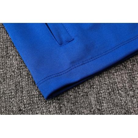 Спортивные футбольный костюм барселоны 2019 2020 синий  месси