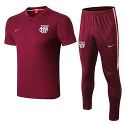 Футбольная форма костюм барселоны 2020 2019 бордовый  месси