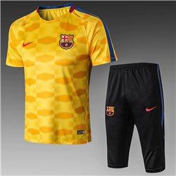 Футбольная форма костюм барселоны 2020 2019 оранжевый
