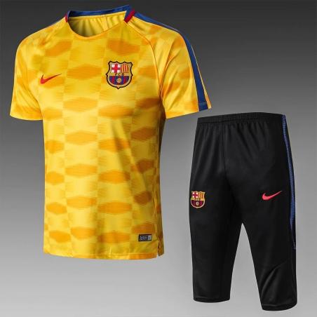 Футбольная форма костюм барселоны 2020 2019 оранжевый  месси