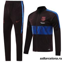 (Темно серый/Синий) спортивные футбольные костюм барселона 2019 2020