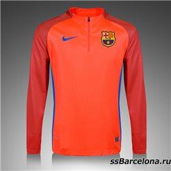 Тренеровочный свитер (Оранжевый/Темно синий) барселоны