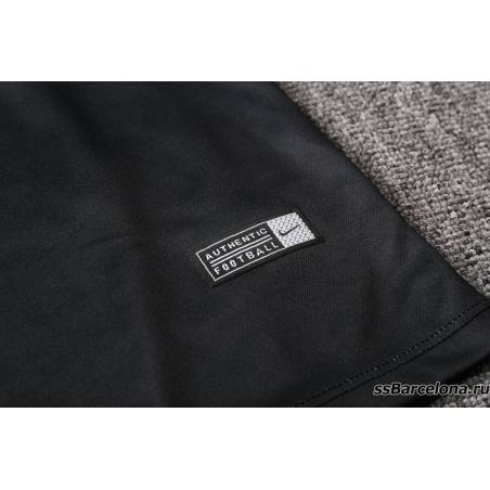 Тренеровочный свитер (Темно синий/Минтоловый) барселоны