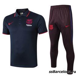Футбольный костюм поло барселона 2019 2020