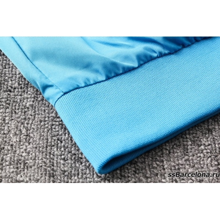 Куртка ветровки барселоны небесно синяя