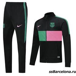 (Черныый/Яркий) спортивные футбольные костюм барселона 2020