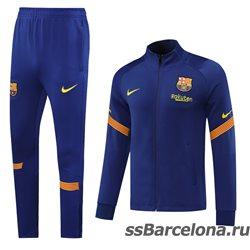 (Синий/ЖЕлтый) Спортивные футбольный костюм барселоны 2021 2020