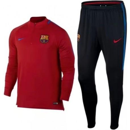 Спортивный костюм барселоны 2018 2017 красный
