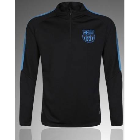 Тренеровочный свитер барселоны barcelona черный синий  месси