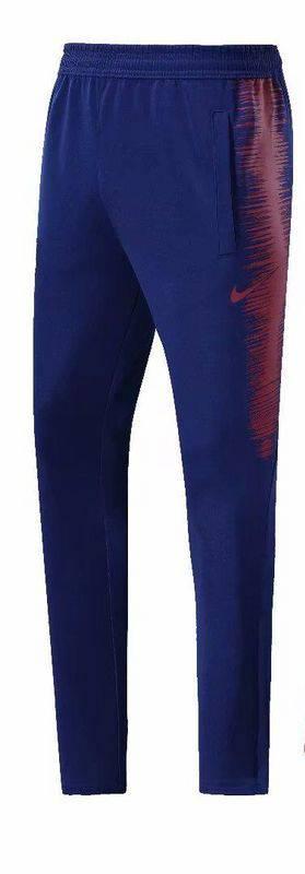 Тренировочные штаны барселоны темно синие красные