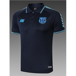 Футболки поло (Темно синяя/Минтол) 2020 2019 барселона