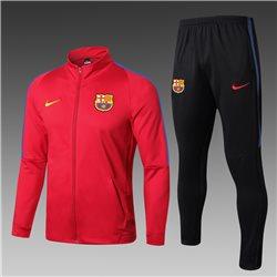 (Красный/Черный) Спортивные футбольный костюм барселоны 2019 2020