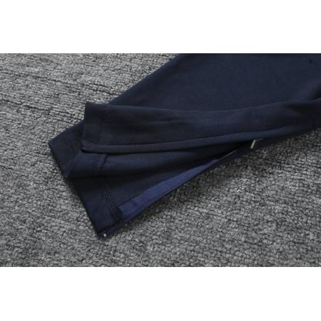 Тренировочные штаны барселоны черные с оранжевым  месси