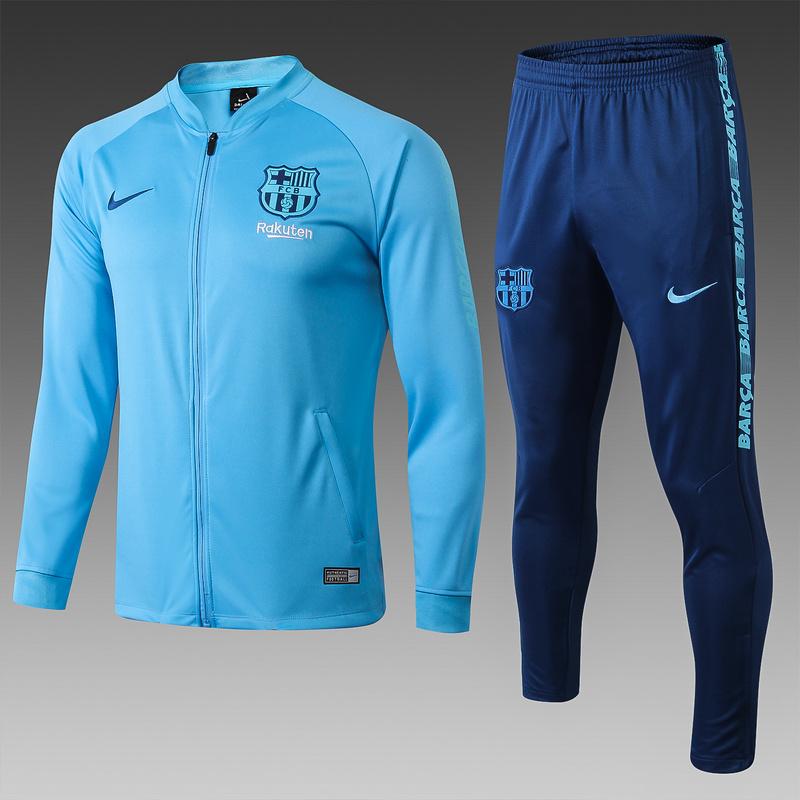 Спортивные костюм барселоны 2020 2019 небесно синий