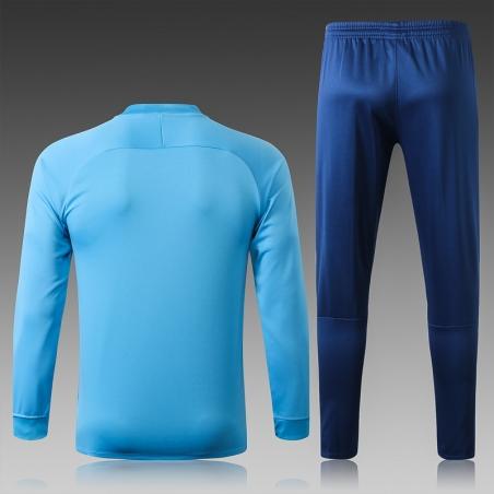 Спортивные костюм барселоны 2020 2019 небесно синий  месси
