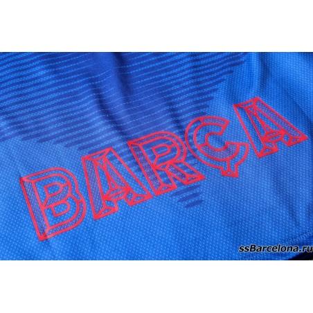 Тренировочные костюмы (Темно синий/Минтоловый) барселоны 2020 2019