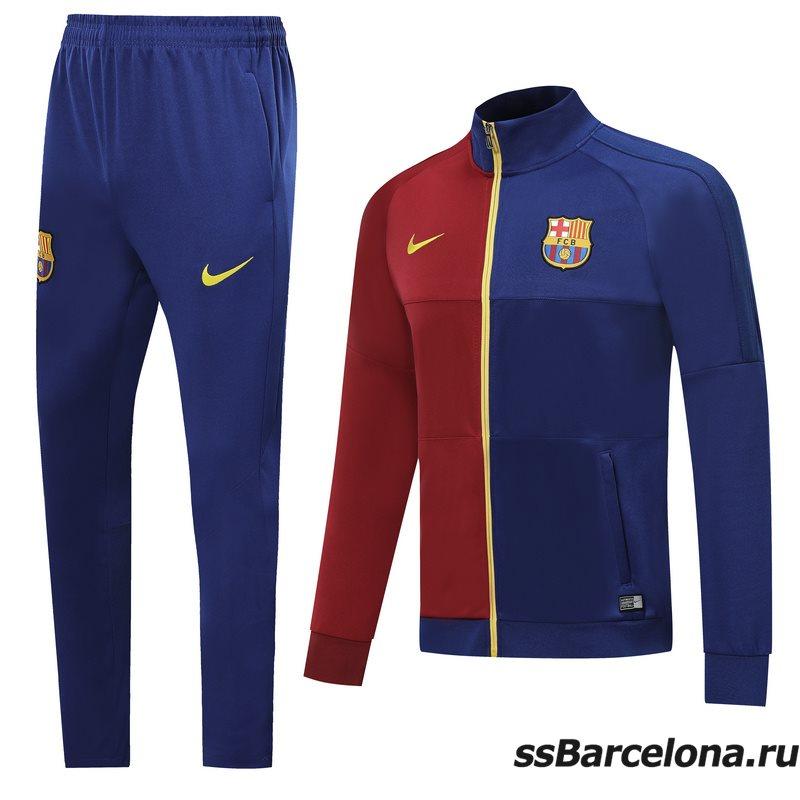 Спортивные костюм (Темно синий/Красный) барселоны 2020 2019