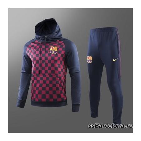 Теплый толстовкой тренировочные костюмы Барселона