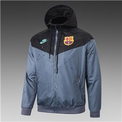 Куртка ветровки (Черная/Берюзовая) барселоны 2021 2020